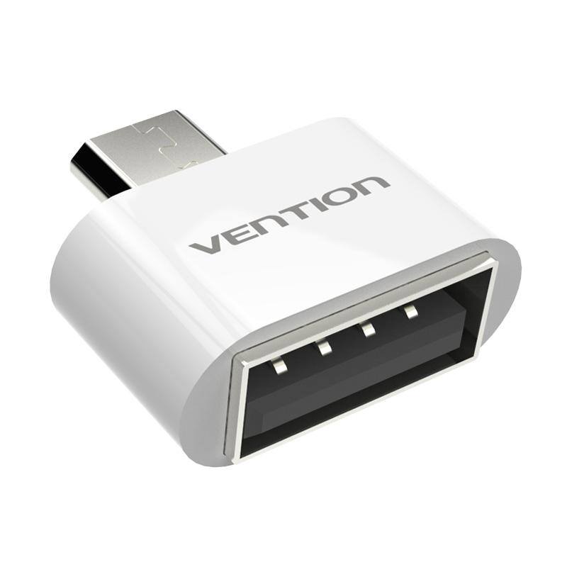 VENTION Micro USB To USB OTG Adapter 2.0 Converter For Android Galaxy S3 S4 S5 Tablet Pc to Flash Mouse Keyboard(China (Mainland))