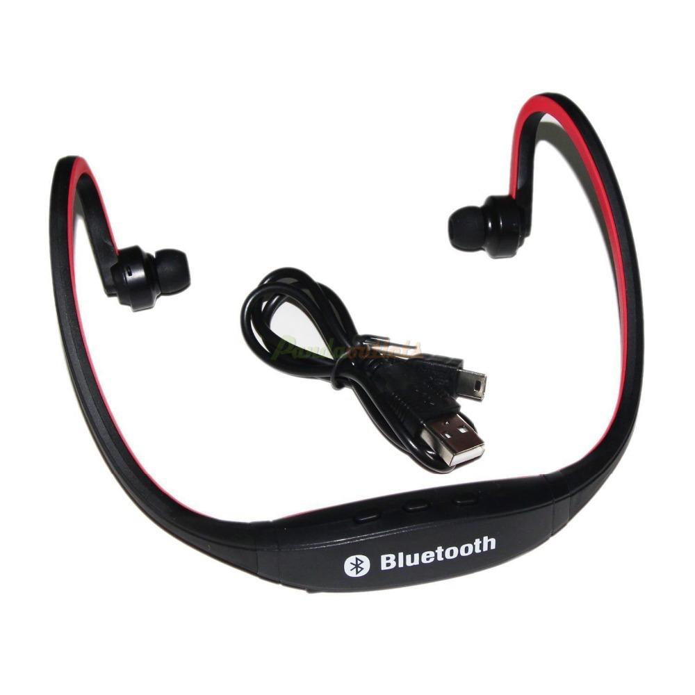 iwoo sports wireless bluetooth headphone earphone hifi stereo headset for pc. Black Bedroom Furniture Sets. Home Design Ideas