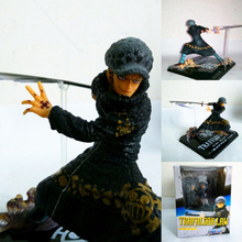 Buy 13cm Cool Design One Piece Surgeon Death Trafalgar Law 2 Years Battle Ver. PVC Action Figure Model Toy for $12.84 in AliExpress store