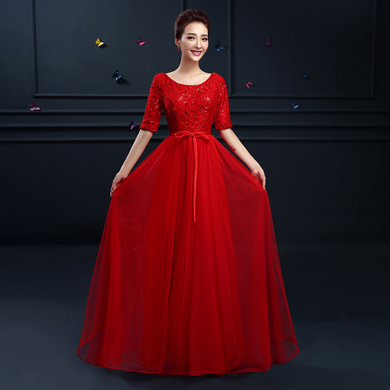 Images of Gowns With Sleeves - Gift and fashion