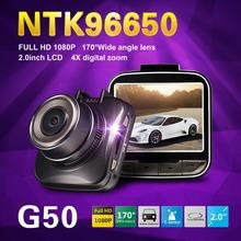 "Novatek 96650 G50 Full HD 1080P Mini Car DVR Video Recorder 2.0""LCD H.264 Video Recorder WDR G-Sensor Dash Cam Free Shipping!(China (Mainland))"