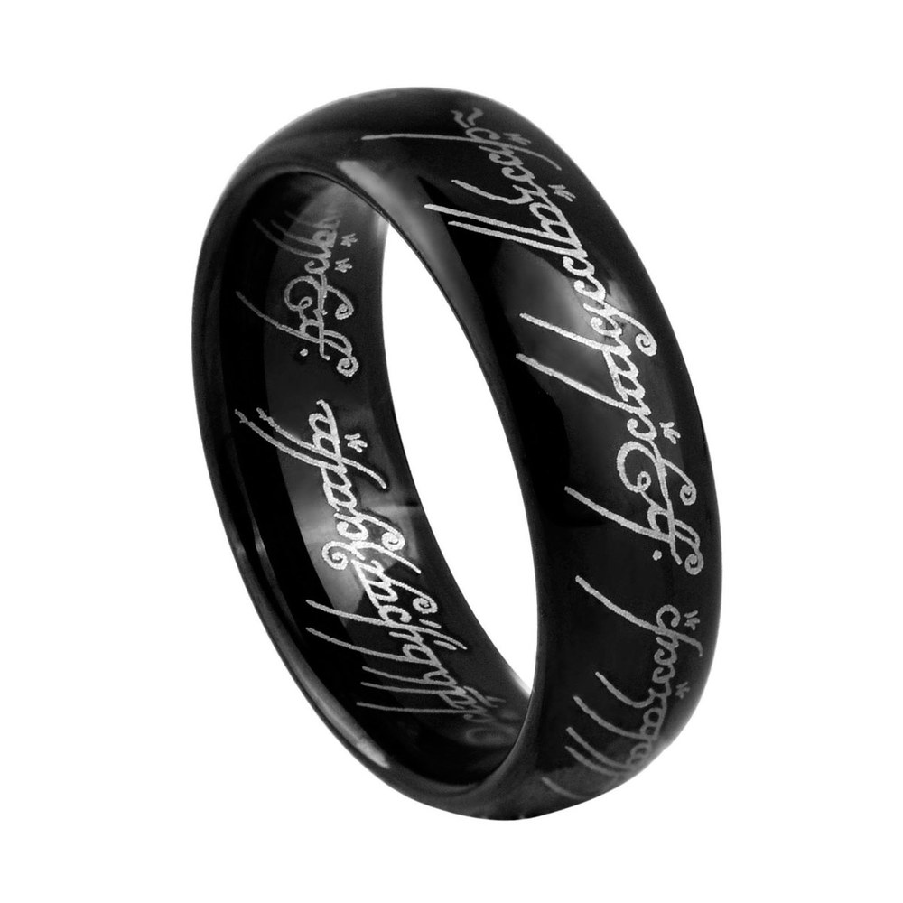 aliexpress buy the lord of the rings black tungsten