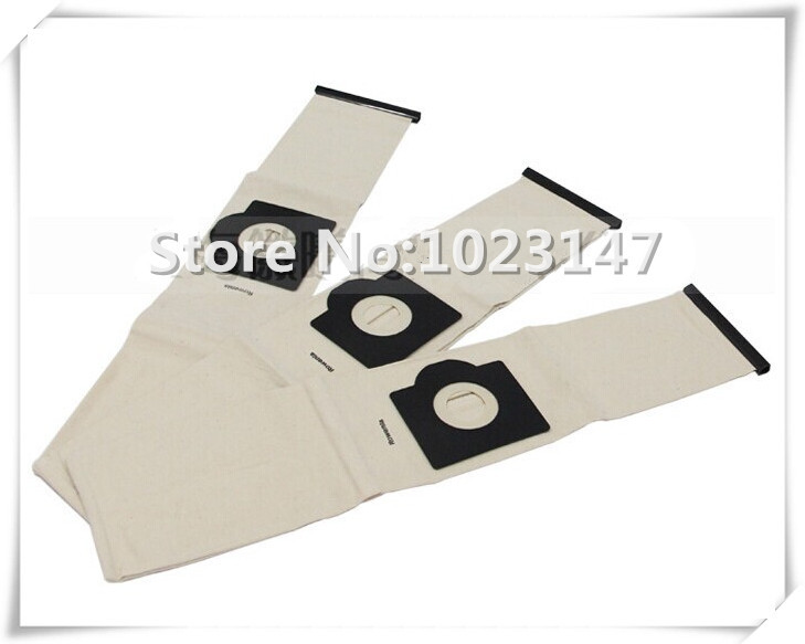 Cleaners Parts Washable Bags Dust Bag for Nilfisk IVB3 IVB5 Aero Series,Electrolux Z 55,BD 2001 Masterlux Twinstream Z53 etc.(China (Mainland))