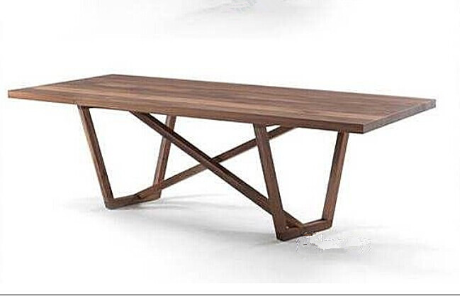 American Country Style Dining Table Minimalist Furniture Loft Industrial Wind Original Wooden