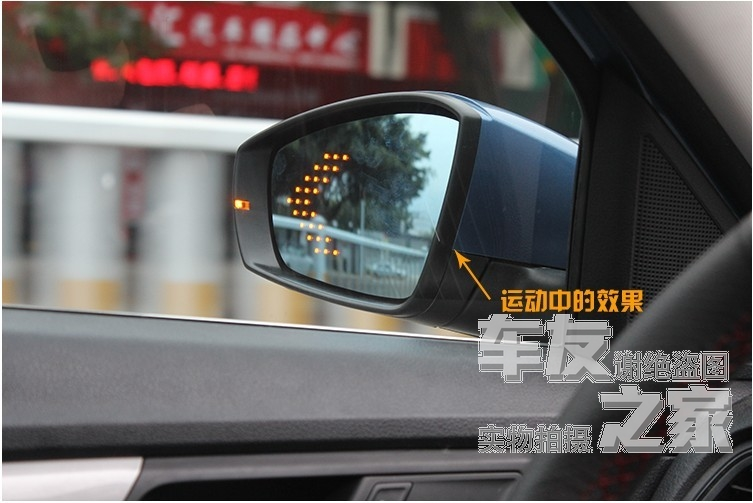 forImperial British GC7 LED lights SC6 large hyperbolic anti glare rearview mirror blue mirror reflection lens