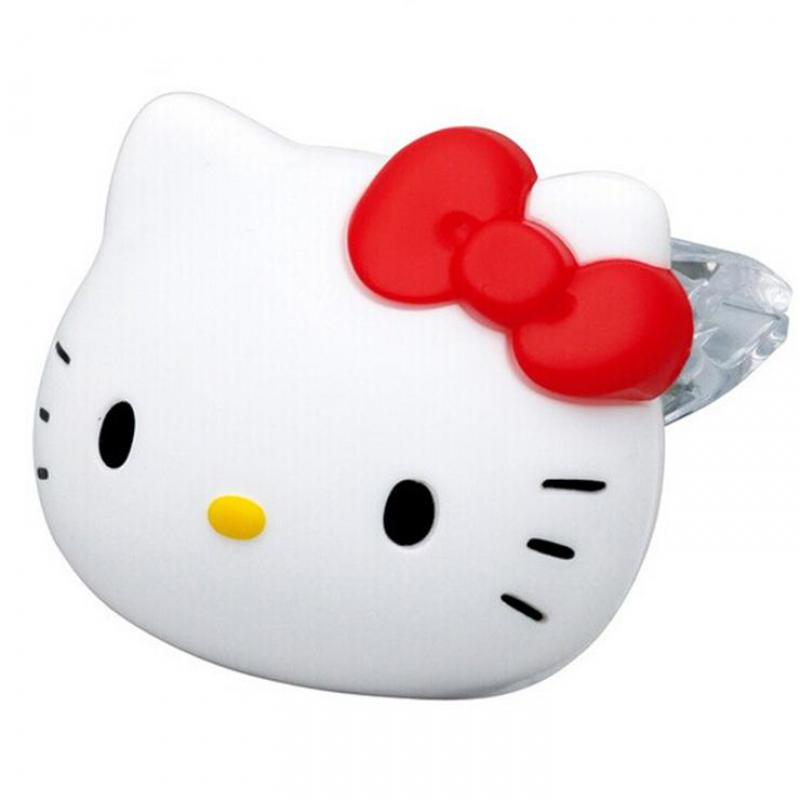 2pcs/pair Cute Hello Kitty Car Accessories Car Air Freshener Perfume Solid State White Musk Scent Car Perfume Fragrance(China (Mainland))