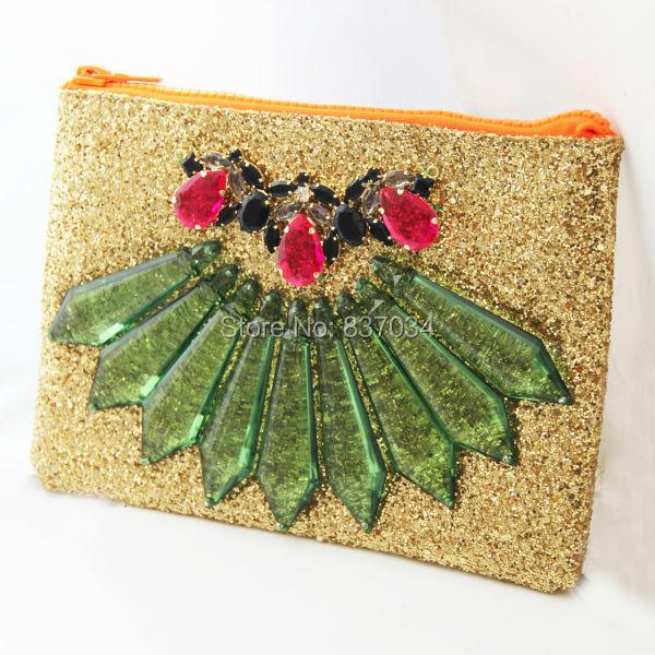 Fashion Glitter Women Handbag Party Wedding Evening Bag Ladies Brand Statement Messenger 2014 New Day Clutch - Elegantly Jewelry Store store
