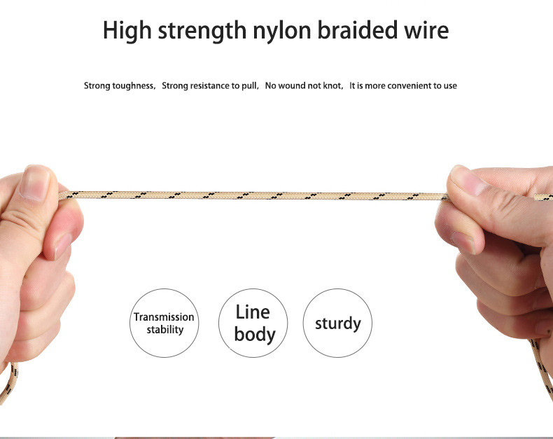 RandGrey 100cm MFI iOS9 Certificated 8pin USB Charging Data Cable For iPhone 5 5S 6 6S Plus for iPad Air 2 Transmit Line 1m 2.1A