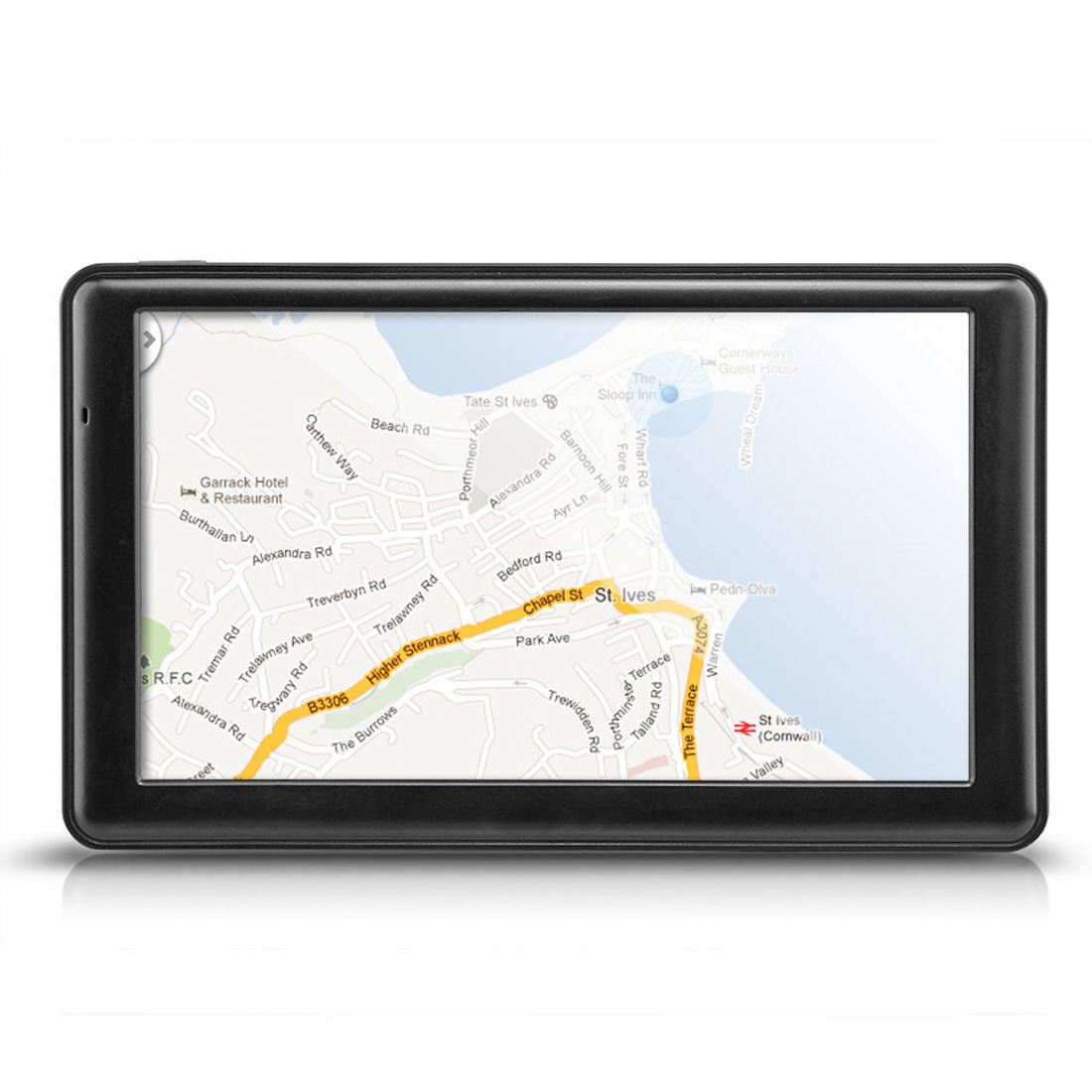 """Car 7"""" Touch Screen Built-in High Sensitivity GPS Navigation FM 8GB Micro SD (TF) card slot + Europe Map Support video music(China (Mainland))"""
