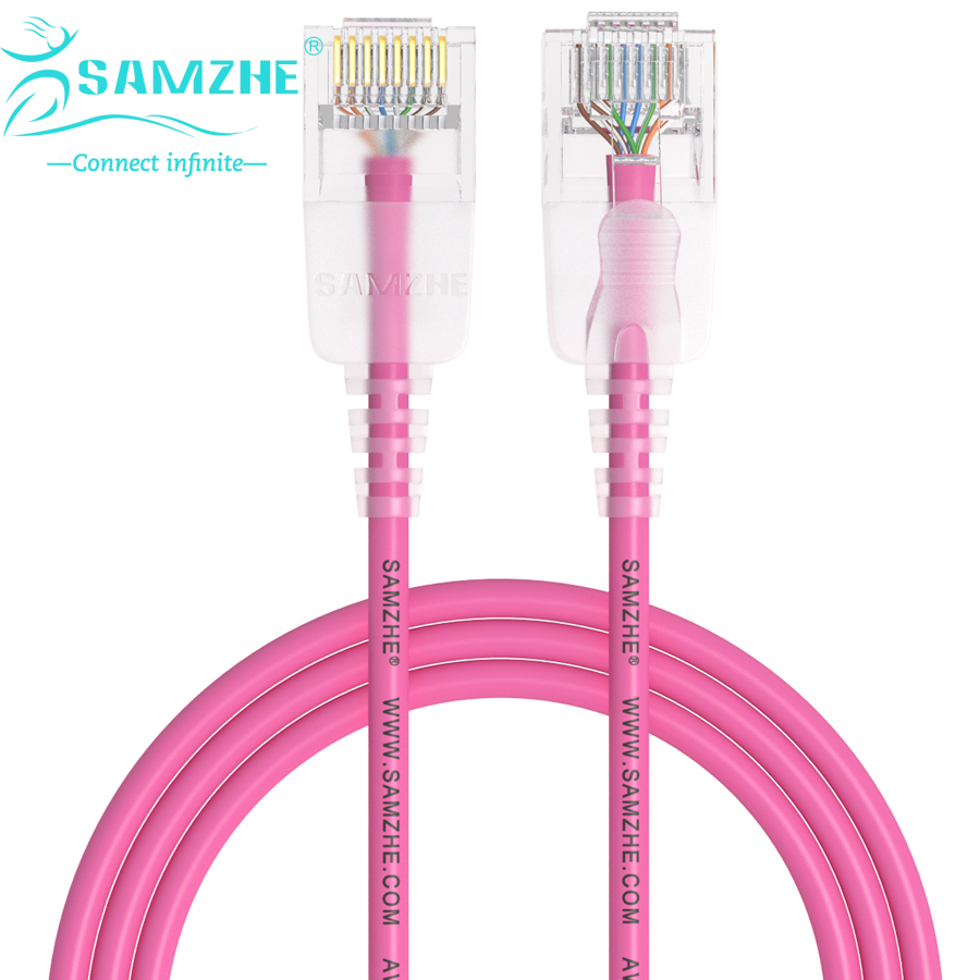 SAMZHE Cat6A Ultrafine Ethernet Patch Cable - Slim RJ45 Computer,PS2,PS3,XBox Networking LAN Cords 0.5m 1m 1.5m 2m 3m 5m 8m 10m(China (Mainland))