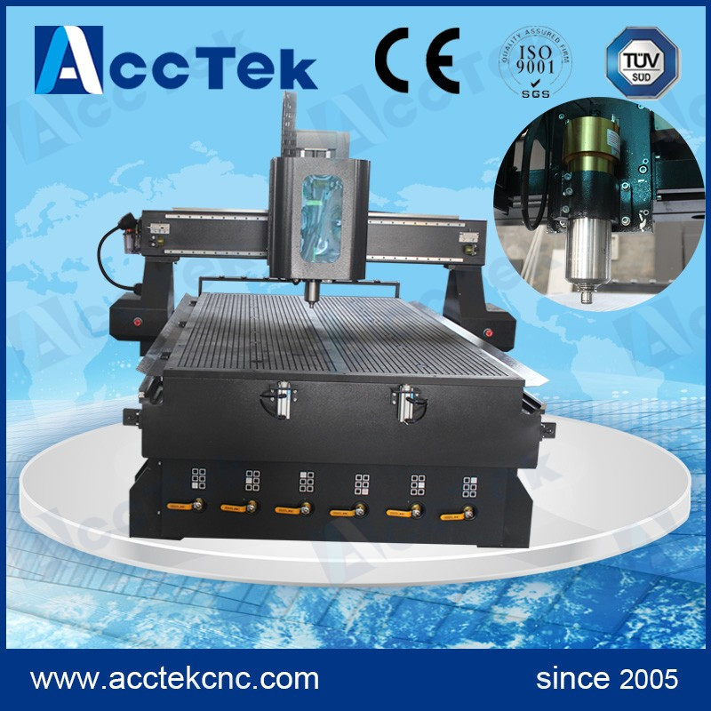 High precision dust collector woodworking machine linear atc cnc 1325 machine to cut wood(China (Mainland))