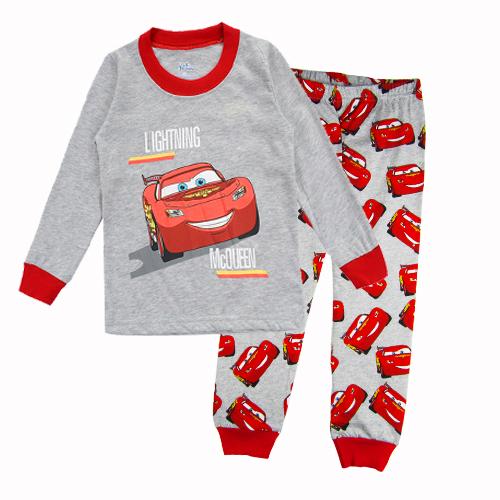Cute Cartoon Baby Boys Girls Dinosaur Car Children pajamas Animal Pajamas Kid Pajama sets Children Clothing(China (Mainland))