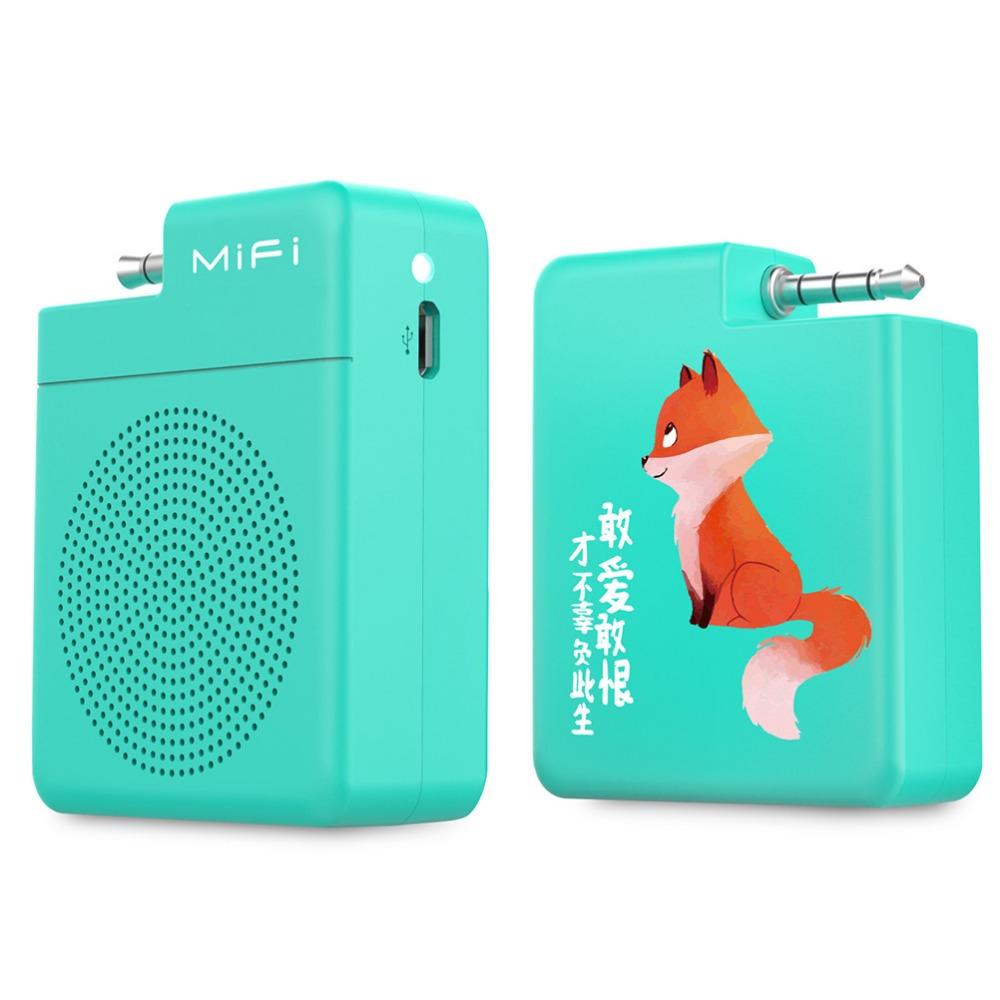 Mifa mifi-i4 Portable speaker 3.5mm Audio Plug Mobile Phone Speaker Hands-Free Stereo Mini speaker for smart phone(China (Mainland))