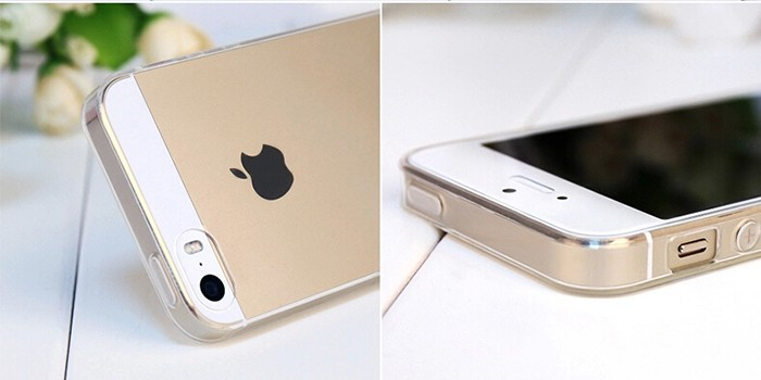 Hot Item Hight Quality Transparent Case For iphone5 5s 5g Ultra thin Clear Soft Silicon Case Phone Protective Shell Cover