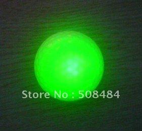 free shipping 10pcs/lot glow golf ball glow in the dark golf ball luminous golf ball(China (Mainland))