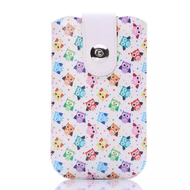 1Pcs Wholesale Universal Portable Bag Accessory Pouch Cover Skin Pull Leather Case For Apple iPhone 3 3G 3GS iPhone3(China (Mainland))