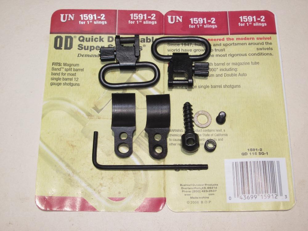 Free shipping Un QD 1591 2 Most 12G Remington 31 850  900 Gun Swivels Tactical