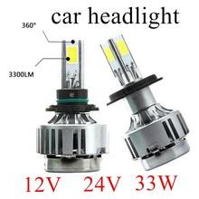 Buy 2Pcs 5202 9004 9007 9006 H4 H7 H8 H9 H11 H10 9005 H13 33W Super Bulb Fog Lights Car Headlights Lamp Car parking 6000K 12V 24V for $37.32 in AliExpress store