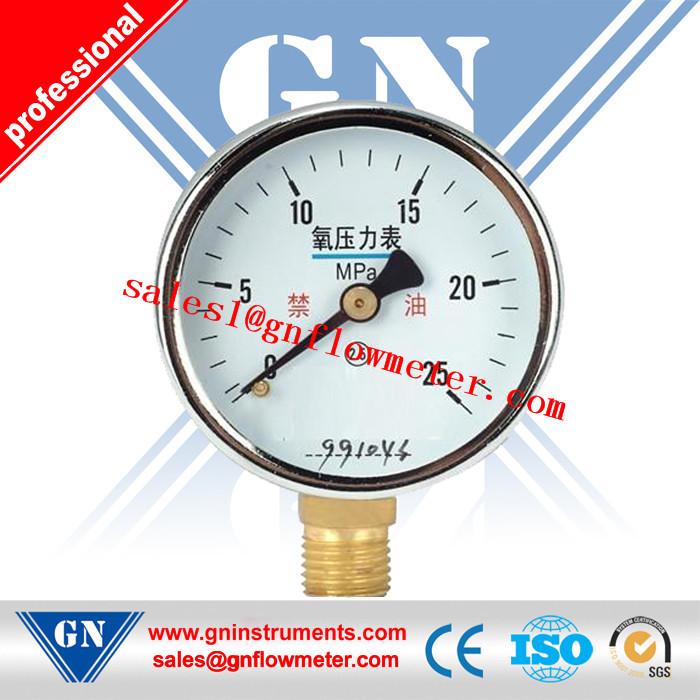 mechanical oxygen pressure gauge(China (Mainland))