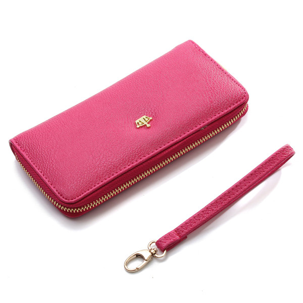 Long Wallets 6 colors PU Leather Women Wallet Time limited Promotion Hand Bag New Fashionable Holders