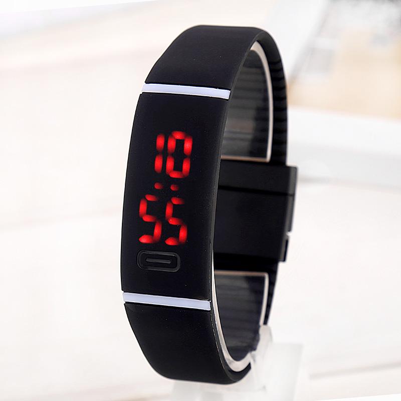New Upgrade Section Waterproof LED Bracelet Children Women Watch Men Digital Wristwatch Sports Shock Fashion Clock  Wristwatch<br><br>Aliexpress
