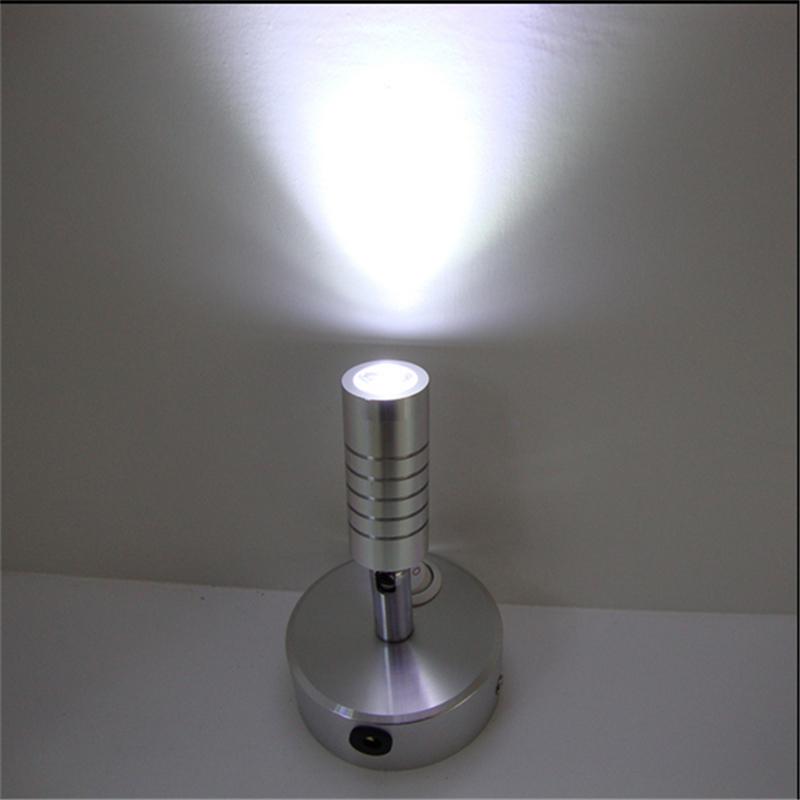 3 years warranty 1W/3W recharging led spot lamp ,rechargable battery wireless display lamp,switch model 360degree wedding light(China (Mainland))
