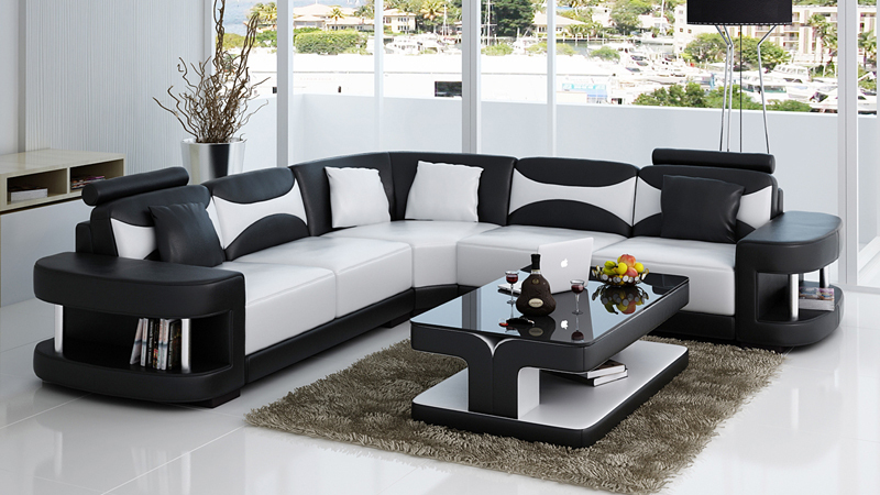 Hot on sale sofa set living room furniture in living room for Living room sofas on sale