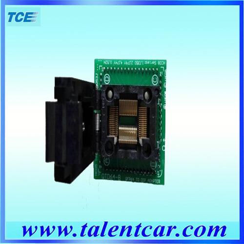 High quality QFP 64 Adapter IC programming(Hong Kong)