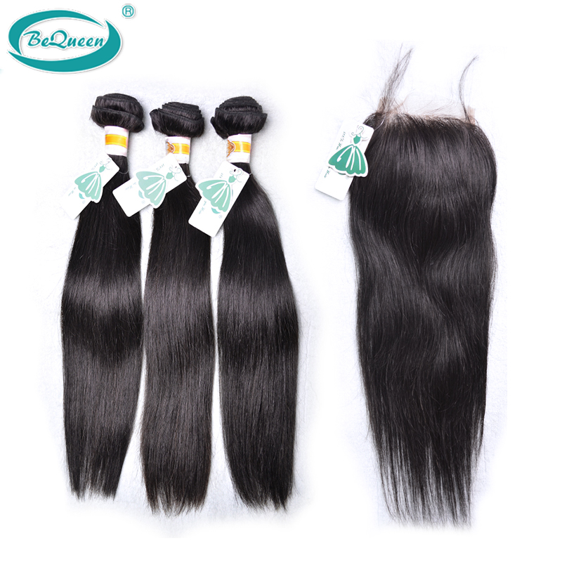 Здесь можно купить  3Bundles with1Swiss Lace Closure,4pcs/lot,Unprocessed Human Hair Weaves Peruvian Virgin Hair Straight,natural color,can be dyed  Волосы и аксессуары