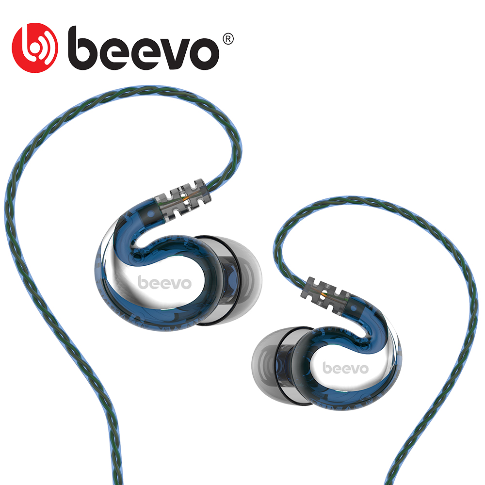 Original Beevo Em390 Running Sport In Ear Earphone With Microphone 3.5mm HIFI Metal Stereo Earphones Super Bass Noise isolating(China (Mainland))