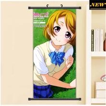 45X95CM Love Live! School Idol Project Hanayo Koizumi Cartoon Anime wall picture mural poster art cloth scroll canvas paintings