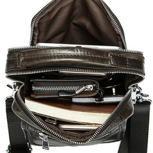 New fashion 100 genuine leather crossbody bag small men bags first layer cow leather men s
