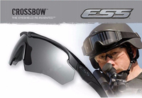 High quality ESS Crossbow Outdoor Sports Army Bullet-proof goggles tactical sunglasses eyewear 3 lens shooting glasses