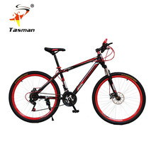 TASMAN 4Colors Men Women mountain bike 21 speed Gear shift 26 Inch Double Disc Brakes Bicycle Road Cycling Riding Outdoor Sports(China (Mainland))