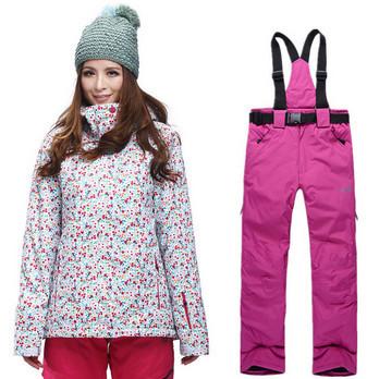 2016 bonne qualit femmes combinaison de ski ensembles 5 sortes de pantalons femmes ski color veste coupe vent respirant specail ski vtements de sport - Veste Colore Femme