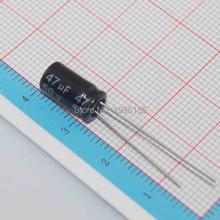 Buy Free 50pcs Aluminum electrolytic capacitor 47uF 50V 6*12 Electrolytic capacitor 6X12 47 UF for $1.55 in AliExpress store