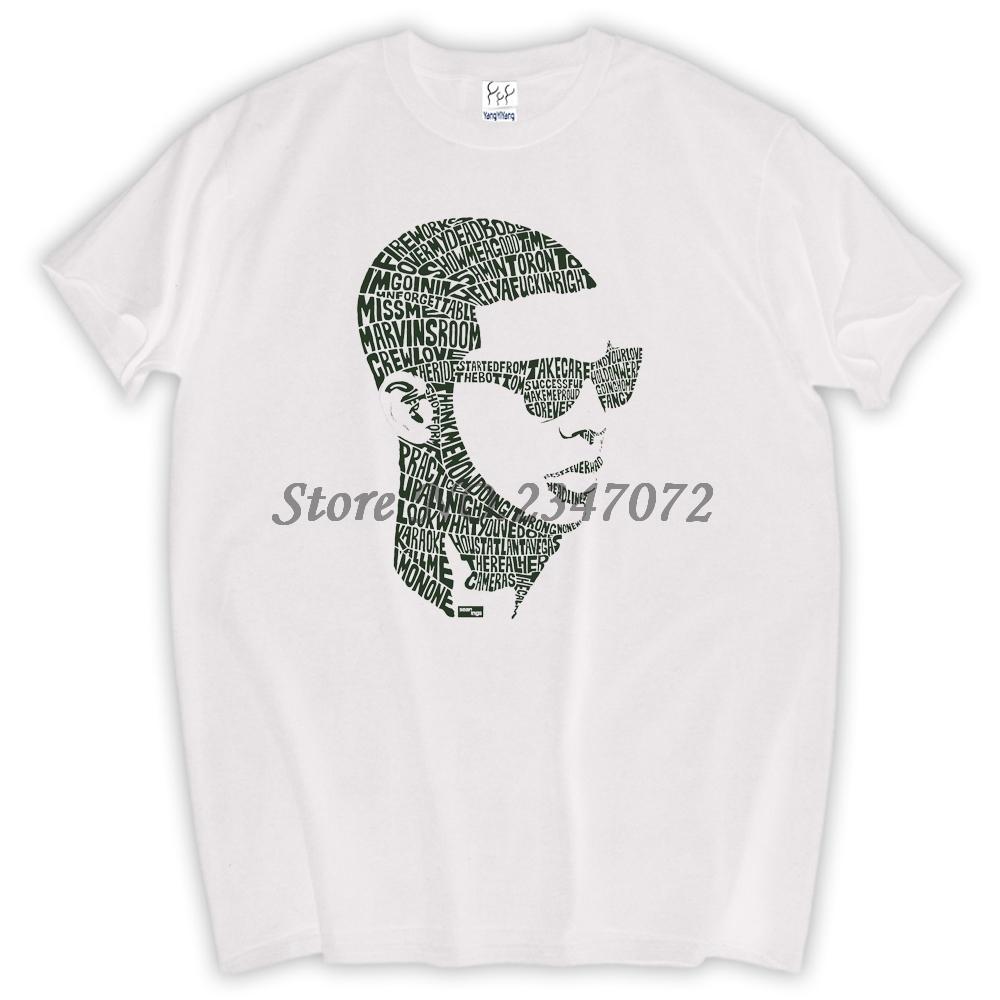 Brand Mens Fashion t Shirts Aubrey Drake Graham Short Sleeve White Tee Shirts Design(China (Mainland))