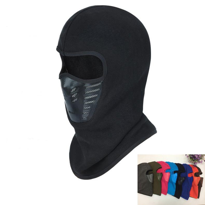 Thermal Fleece Balaclava Hat Hood Ski Bike Wind Stopper Face Mask Hat Men Neck Warmer Winter Fleece Motorcycle Neck Helmet Cap(China (Mainland))