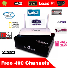 Best Android IPTV Box Arabic Iptv Set Top Box Media Player Leadcool Android 4.4 Include 1 Month IPTV Account French Arabic