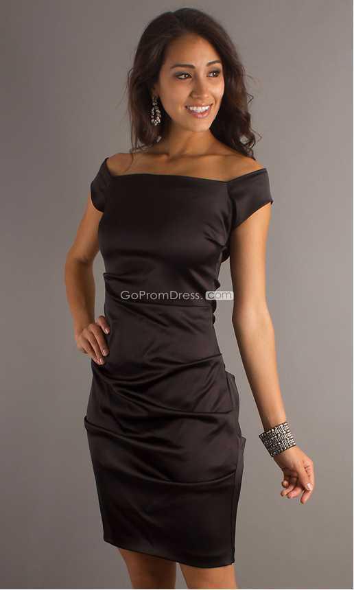 Classic Cocktail Dresses | Black Party Dresses