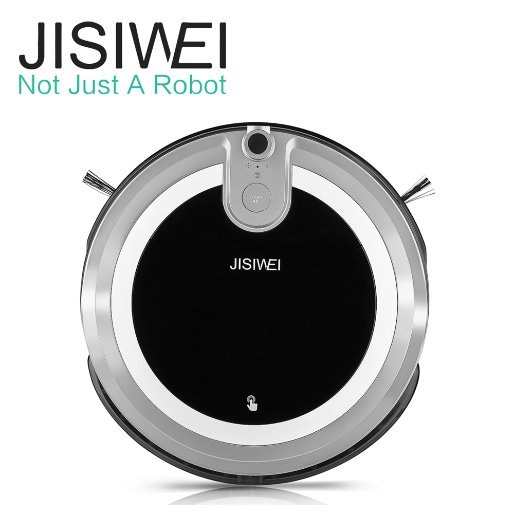 JISIWEI i3 Vacuum Cleaning Robot with Built-in HD Camera Smartphone APP Wireless Remote Control Automatic Vacuum Cleaner(China (Mainland))
