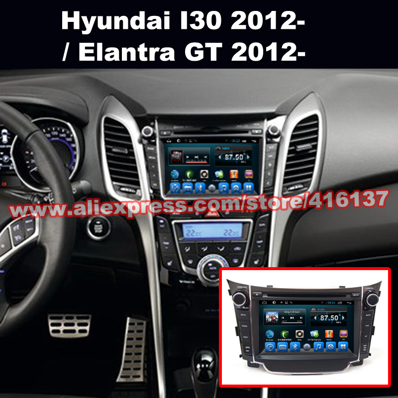 Android In Dash 2 Din Car DVD Support BT TV iPod 3G Wifi Download Function GPS Navigation Video Stereo For Hyundai I30 2012(China (Mainland))