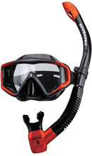 LIMITED JAPAN EDITION SCUBAPRO Crystal VU2 Mask +Spectra Semi-dry Snorkel for Scuba Diving Snorkeling  (China (Mainland))