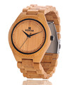 2016 HOT New Bamboo Strap Wooden Fashion Men Wristwatch Analog Display Quartz Casual Watch Masculino Relogio