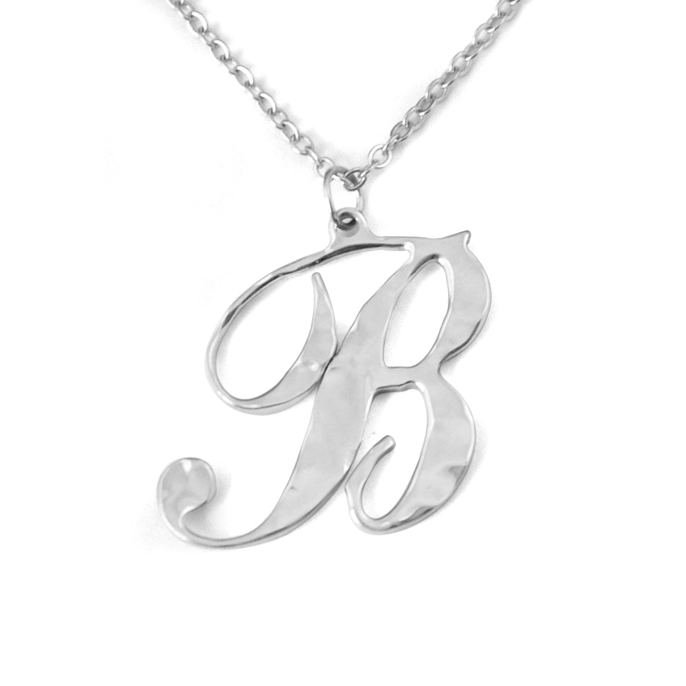 custom letter necklace personalized a z letter necklace in letterfashion letter necklaces pendants