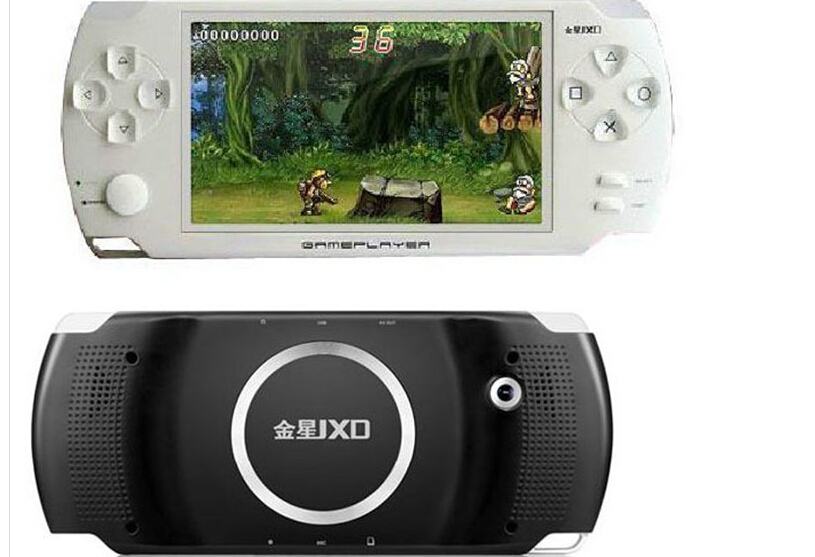 JXD A1000 4.3 inch LCD Screen 4GB Game Console Media Player MP4 MP5 Player with Camera(China (Mainland))