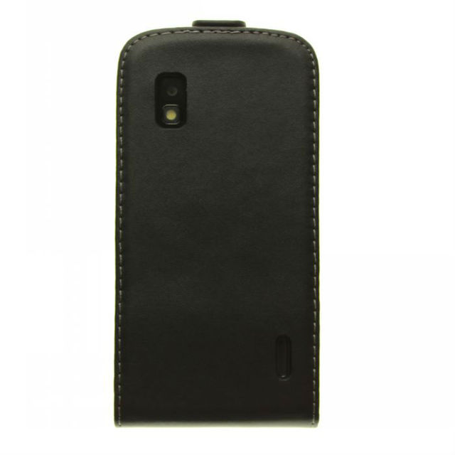 free shipping High Quality leather Case For LG Google Nexus 4 E960 Magnetic Flip Leather Case Cell Phone Accessories