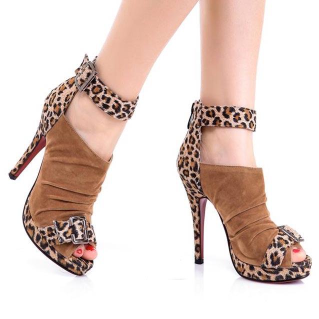 Cool New 2015 Summer Women Flip Flops Shoes For Women PU Leather Sandals