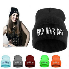 Unisex Women Men Hip-hop Baggy Beanie Hat Cool Dance Fashion Winter Warm Blend Cap Women's Knitted Hats Free Shipping