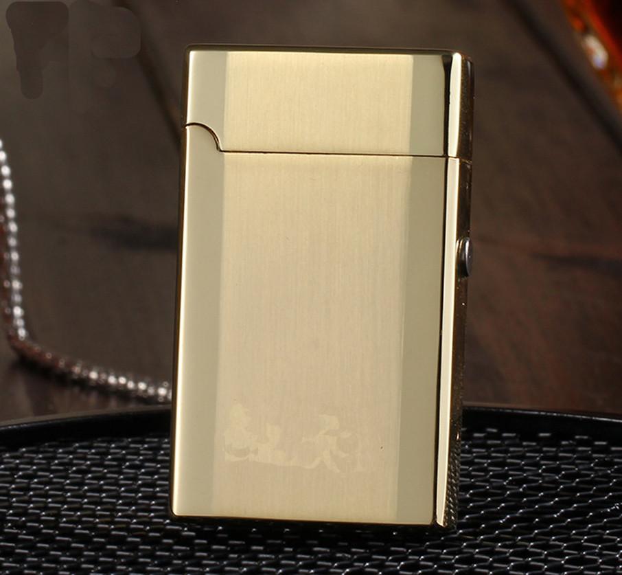 ถูก Arcโลหะเบาชาร์จUSBชีพจรบุคลิกภาพบุหรี่อิเล็กทรอนิกส์เบา